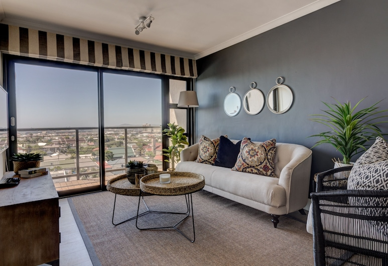 The Paragon Luxury Apartments, Cape Town, Two Bedroom Superior Apartment Madison , Dnevna soba