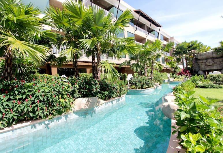 迈考棕榈海滩度假村, 麦考, 室外游泳池