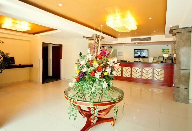 格林豪泰南京中華門地鐵站快捷酒店, 南京市, 櫃台