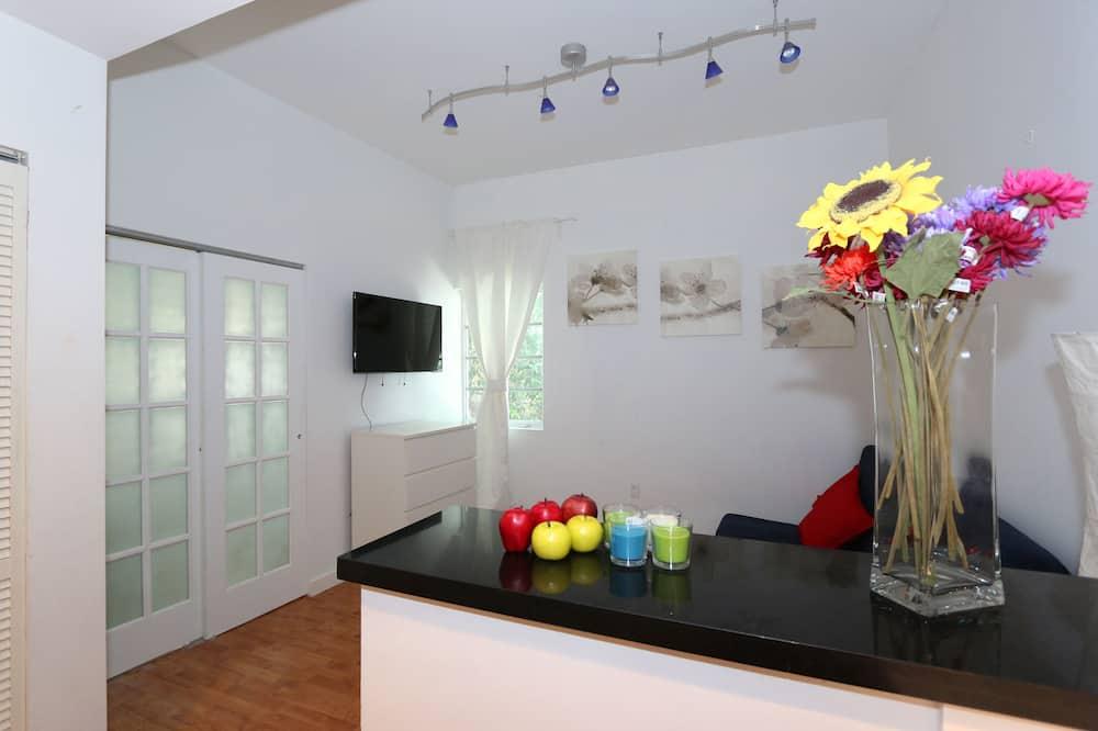 Design Apartment, 1 Bedroom, Kitchen - Living Area