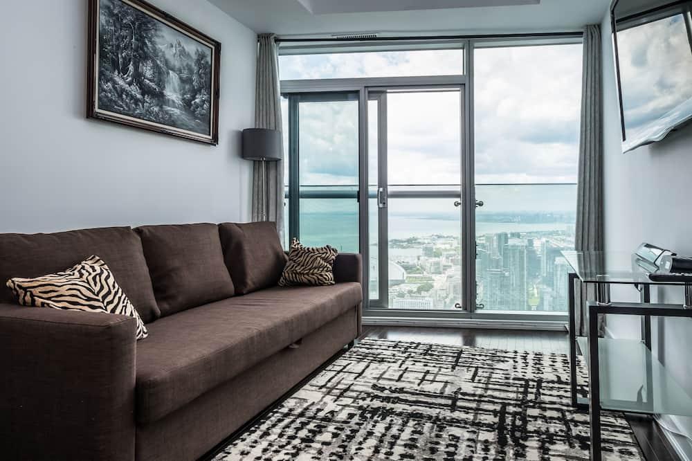 Superior Condo, 1 Bedroom, Lake View - Living Room