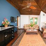 Luxury-Zimmer, 3Schlafzimmer, Meerblick - Wohnbereich