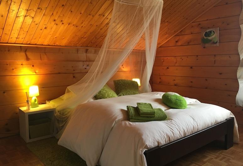 Le Gîte des Iles, סיון, חדר זוגי, מיטת קווין, חדר אורחים