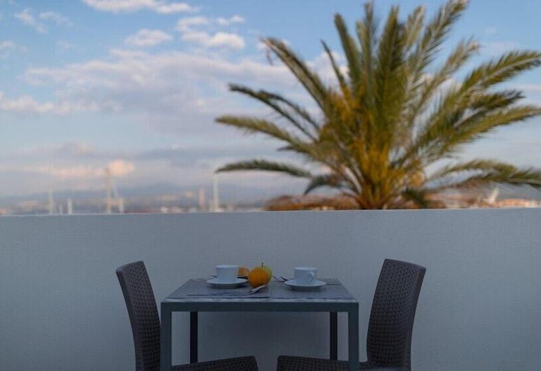 B&B Liberty Palace, Milazzo, Habitación, terraza, Terraza o patio