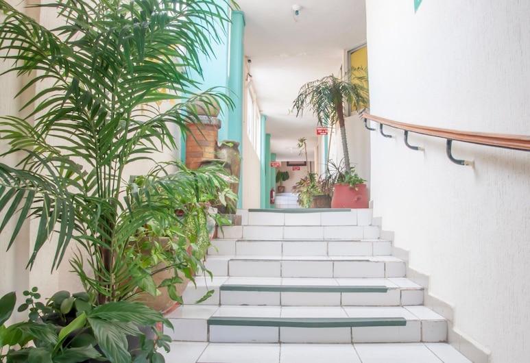 Hotel y Suites Continental, Coatzacoalcos, บันได