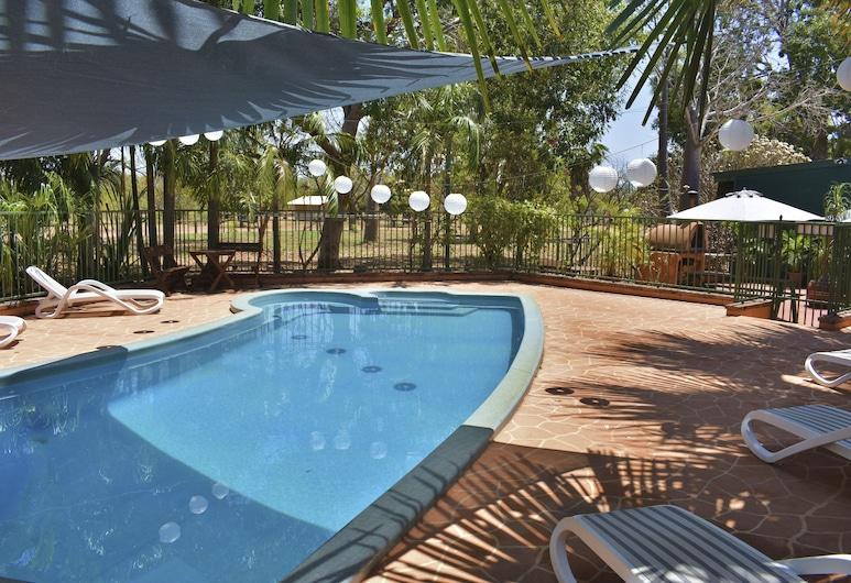 Parry Creek Farm Tourist Resort & Caravan Park, Vindema, Divvietīgs numurs, vairākas gultas, skats uz dārzu, Viesu numura skats
