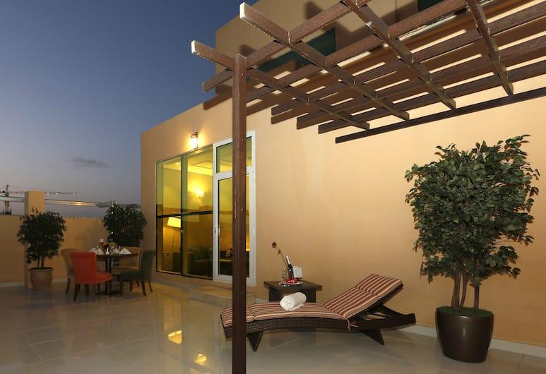 Swiss Spirit Metropolitan Riyadh, Riyadh, Swiss Select Suite, Terrace/Patio