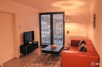 Mynd af BlueStone Boarding Apartments í Duesseldorf