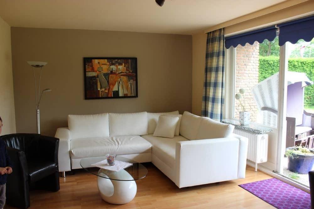 Apartment, 3Schlafzimmer (Westermakelsdorf unten) - Wohnzimmer