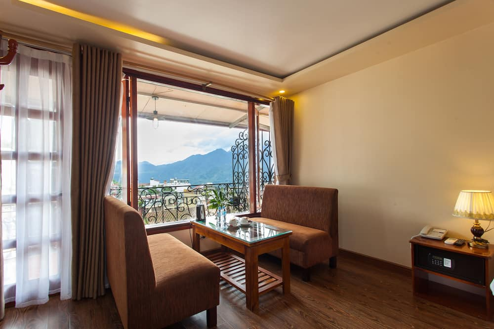Deluxe Room, 1 Double or 2 Single Beds, Mountain View - Balcony