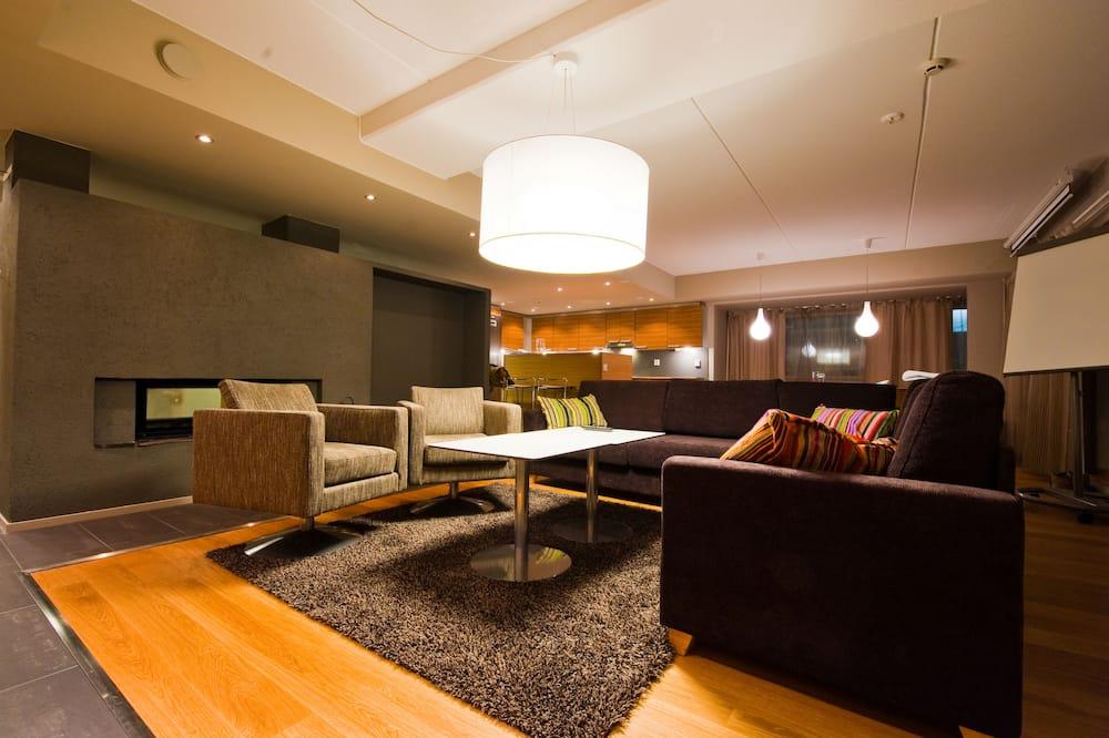 Suite Premier, 4 habitaciones - Sala de estar