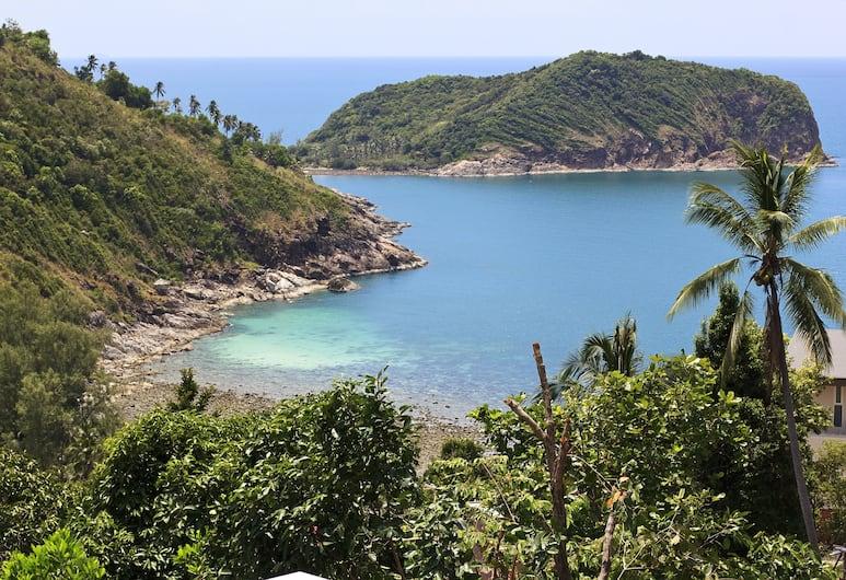 Thong Lang Villa, Ko Pha-ngan, Luxus villa, 4 hálószobával, kilátással a tengerre, Kilátás a szobából