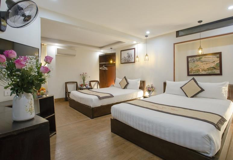 Huong Son Sapa Hotel, Sa Pa, Rodinná izba (Deluxe), Hosťovská izba