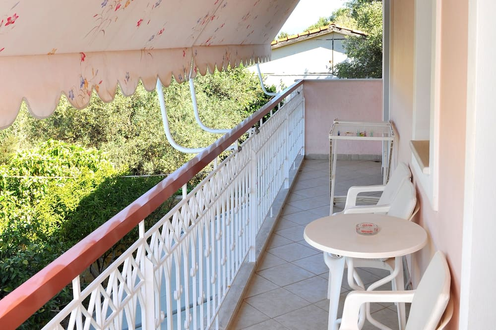 Standartinio tipo apartamentai - Balkonas