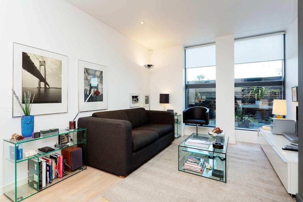 Apartment, 1 Bedroom (Hermitage Street, Paddington) - Living Area