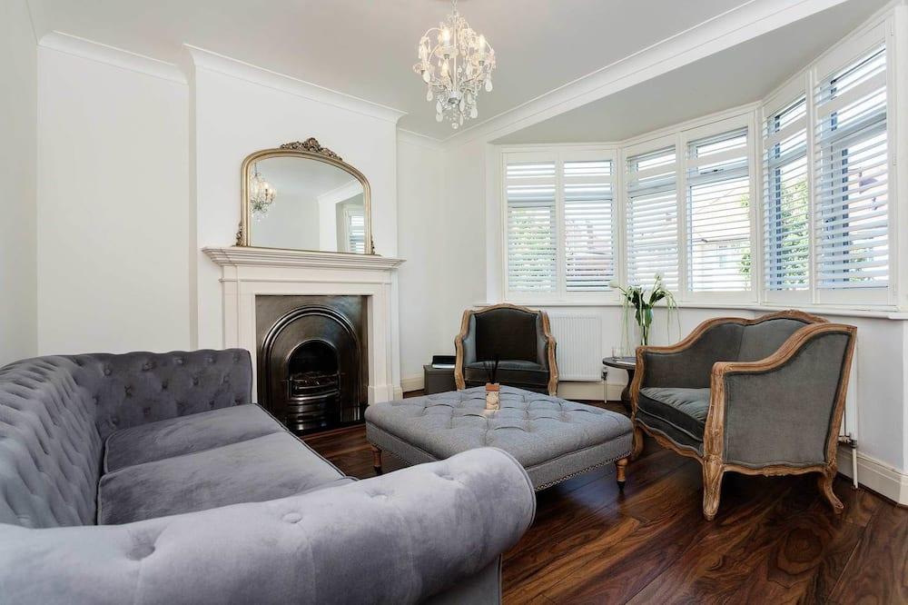Ferienhaus, 5Schlafzimmer (Tilehurst Road, Wandsworth) - Wohnzimmer