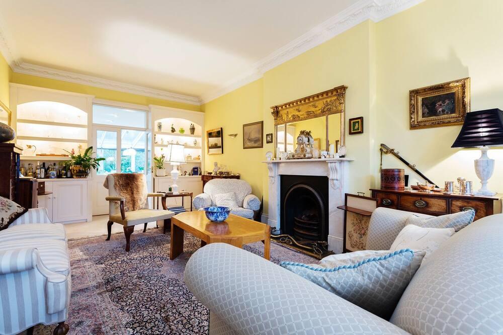 Hus - 4 soveværelser (Goldhaw Road Hammersmith) - Opholdsområde