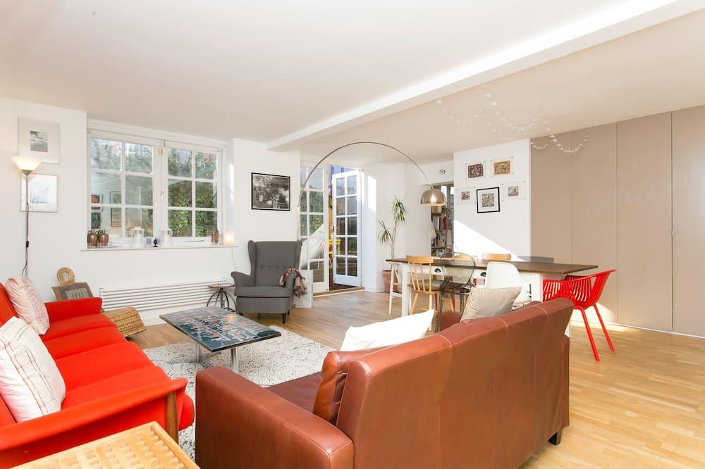 شقة - ٣ غرف نوم (Rutland Road, Hackney & London) - منطقة المعيشة