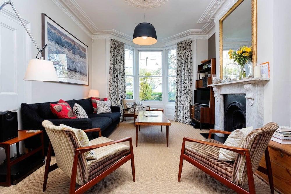 獨棟房屋, 5 間臥室 (Connaught Road, Finsbury Park) - 客廳