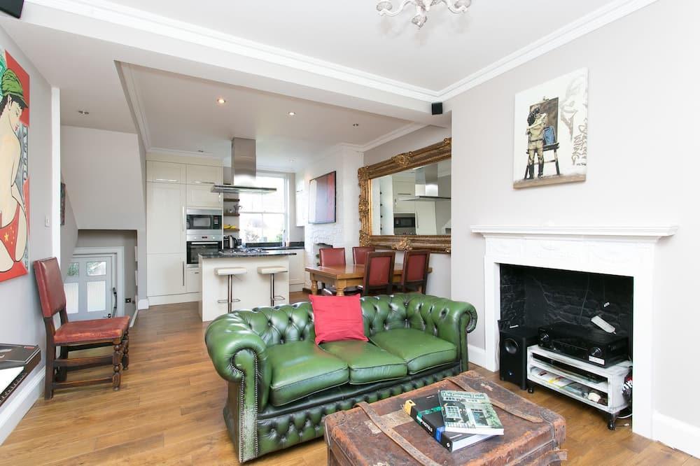 Ev, 2 Yatak Odası (Lambeth Road, Waterloo) - Oturma Odası