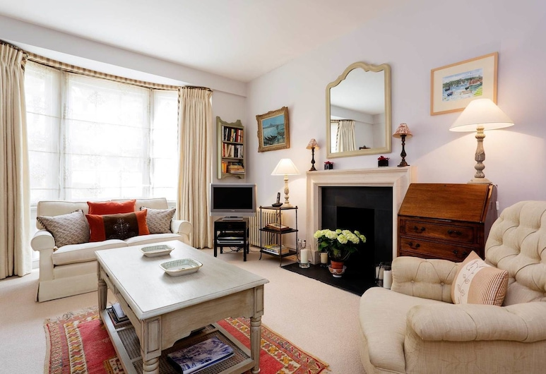 Veeve - Sloane Square bu the river, London, Apartment, 2Schlafzimmer (Tite Street, Chelsea), Wohnzimmer