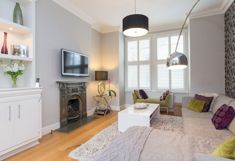 Veeve - Fine Farlow, London, House, 4 Bedrooms (Farlow Road, Putney), Ruang Tamu
