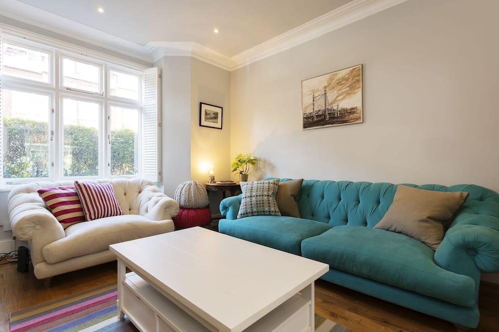Σπίτι, 4 Υπνοδωμάτια (Lisburne Road, Hampstead) - Περιοχή καθιστικού