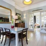 Ház, 4 hálószobával (Mercers Road, Tufnell Park) - Étkezés a szobában