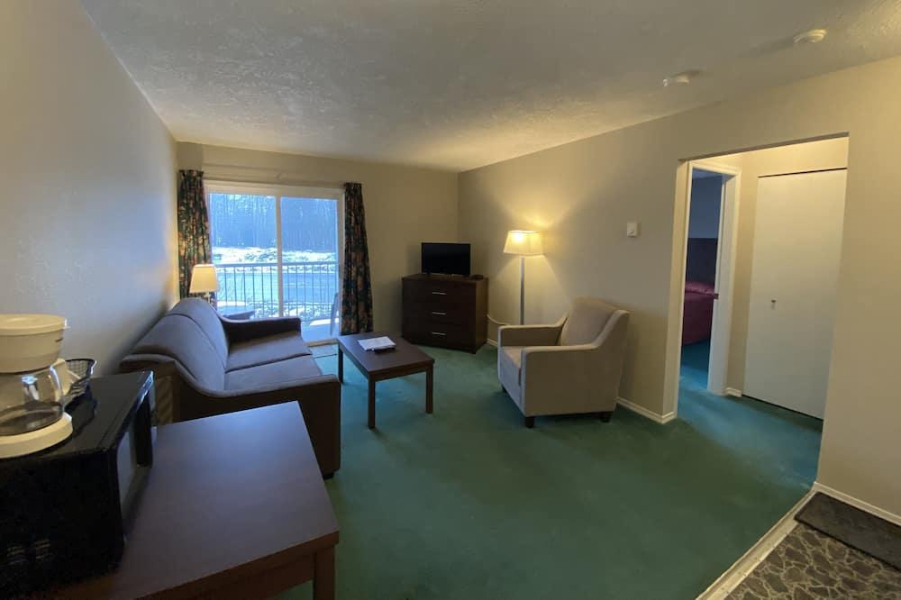Suite, 1 cama de matrimonio con sofá cama - Zona de estar