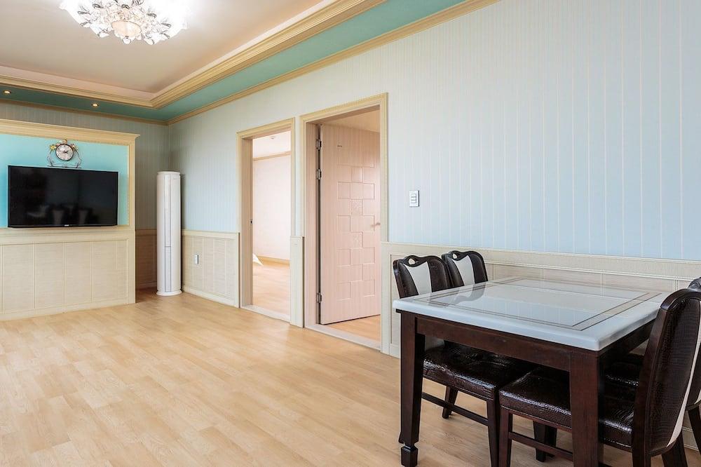 Habitación familiar, vista al mar (40PY) - Servicio de comidas en la habitación