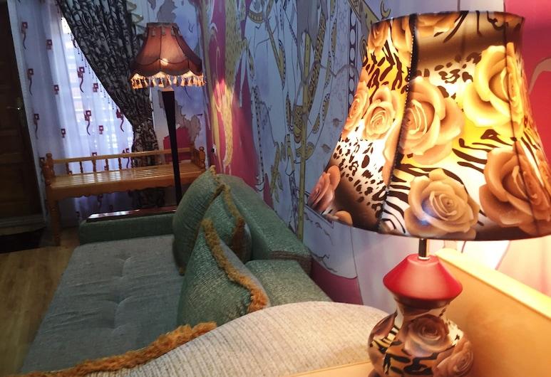 Amelia Boutique Hotel, Bukhara, Habitación familiar, Zona de estar