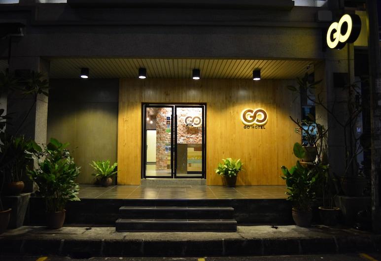โรงแรมโก, สุบังจายา, ทางเข้าโรงแรม