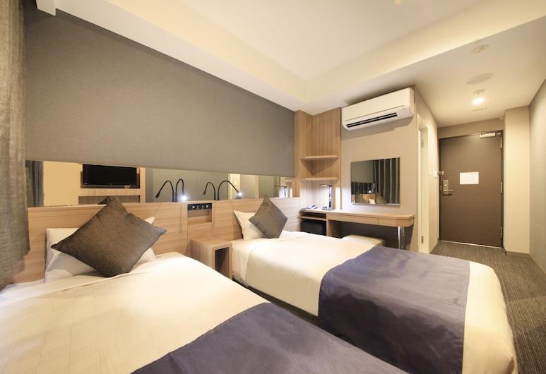 大阪心齋橋坤特薩酒店, 大阪, 標準雙床房, 非吸煙房, 客房