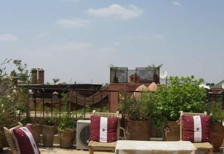 杜阿思考勒民宿, 馬拉喀什, 陽台