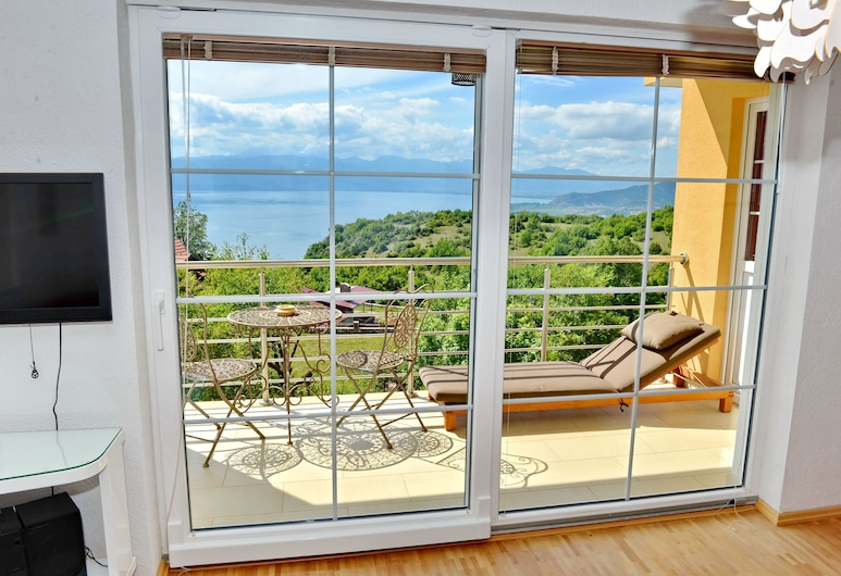 Villa Velestovo, Ohrid, Panoramic Apartment, 2 Bedrooms, Lake View, View from room
