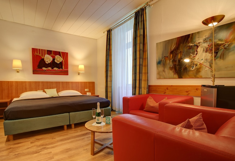 Centro Hotel Blankenburg by INA, Karlsruhe, Standard Double Room, City View, Guest Room