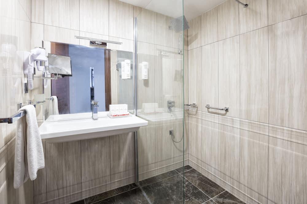 Номер, 2 односпальные кровати, для некурящих - Ванная комната