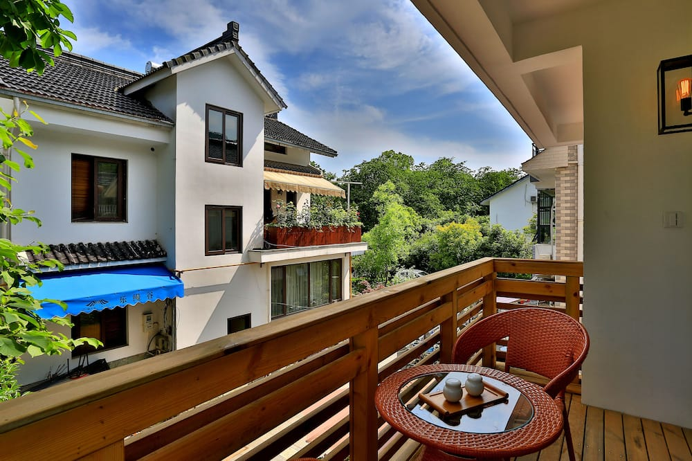 Dvivietis kambarys, balkonas, vaizdas į sodą - Balkonas