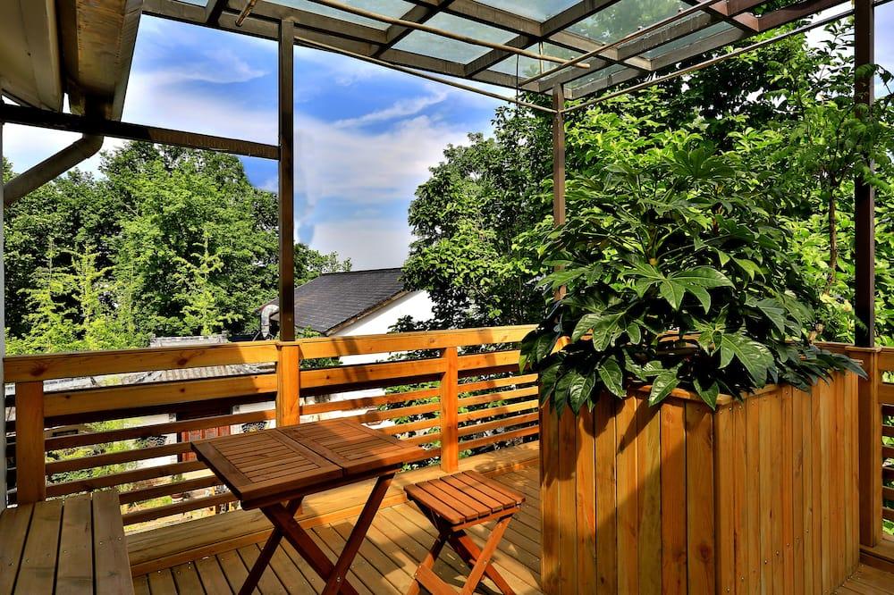 Dvivietis kambarys, terasa (Tatami) - Terasa / vidinis kiemas