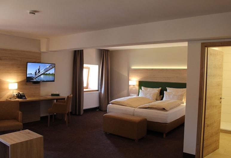 SPIEGLHOF apart, קומהאוזן, חדר דה-לוקס זוגי, ללא עישון, חדר אורחים