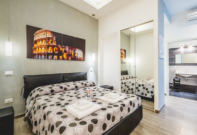 Domus Alberti, Rome, Double Room (Colosseo), Guest Room