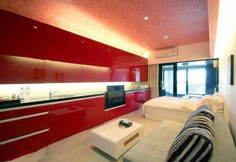小花媽溫泉, 礁溪鄉, 公寓客房, 1 張標準雙人床, 客房
