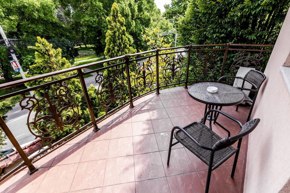 Deluxe Double Room, 1 Queen Bed with Sofa bed, Park View - Terrace/Patio