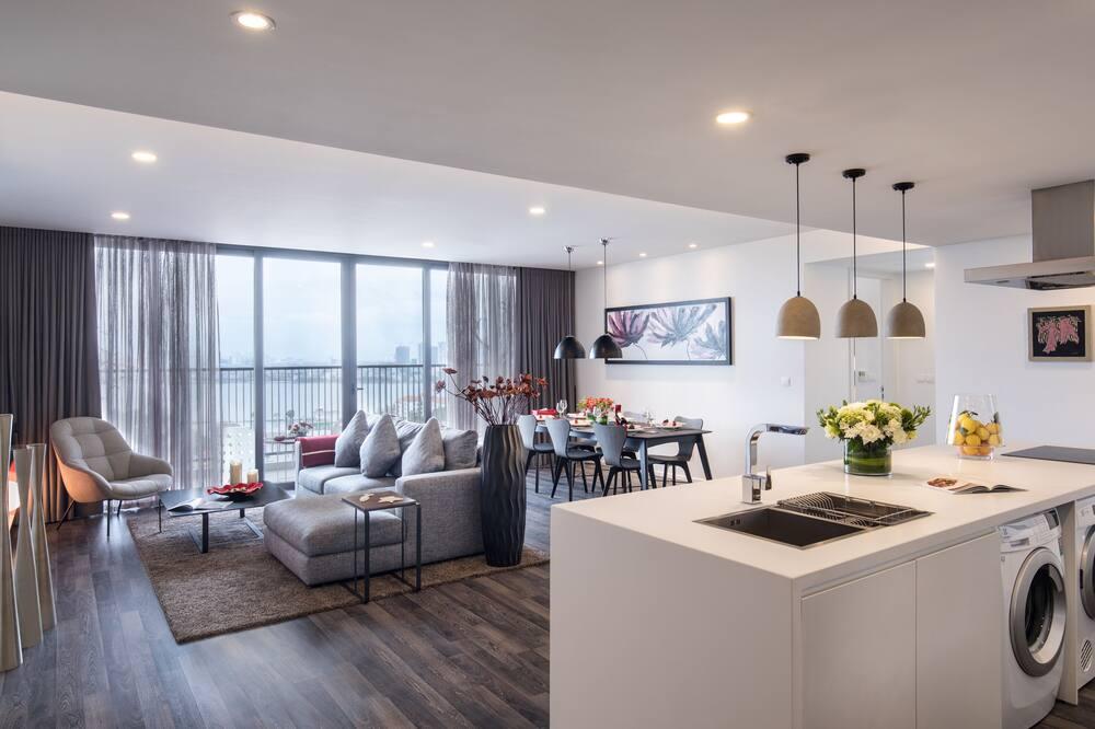Executive-Apartment, 3Schlafzimmer - Seeblick