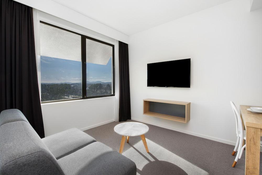 Doppel- oder Zweibettzimmer, 1 Schlafzimmer - Wohnzimmer