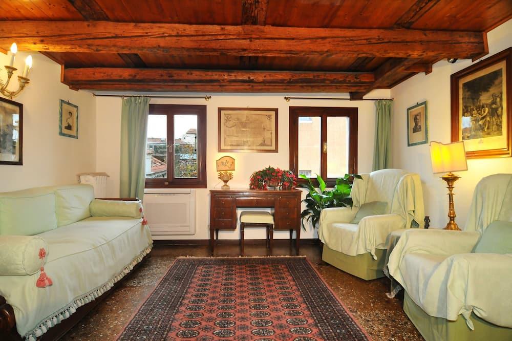 Penthouse, 1 Bedroom, Garden Area - Living Area