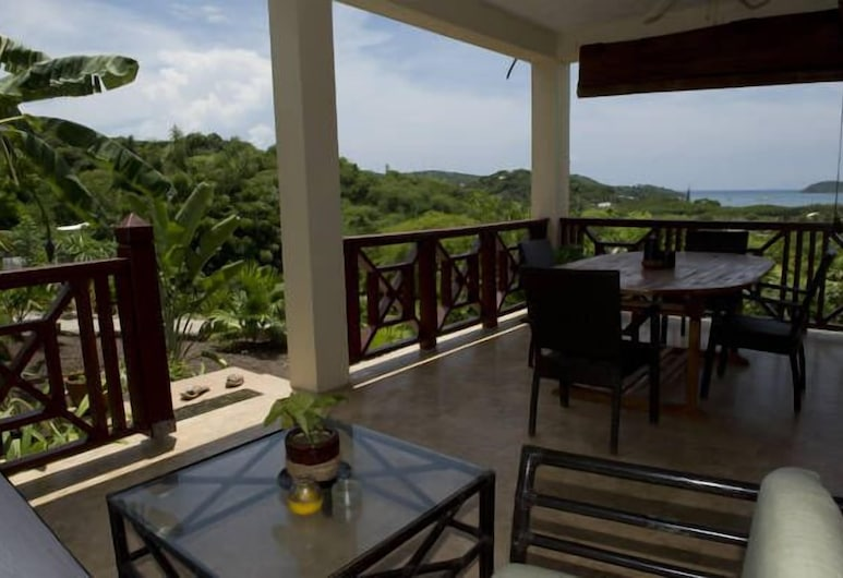 Villa Touloulou, Falmouth Harbour, Apartment, 1 Bedroom, Balcony, Ocean View, Terrace/Patio