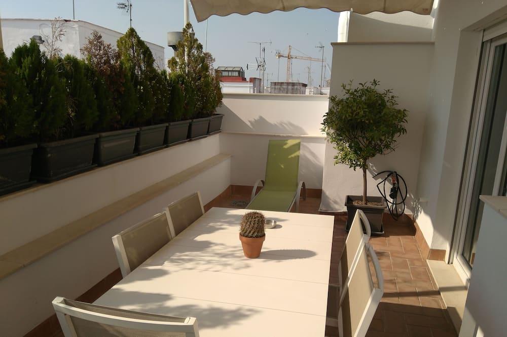 複式房屋, 2 間臥室, 露台 - 露台
