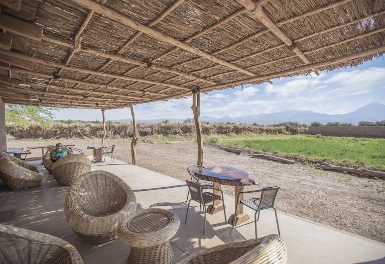 Planeta Atacama Lodge, San Pedro de Atacama, Terrasse/veranda