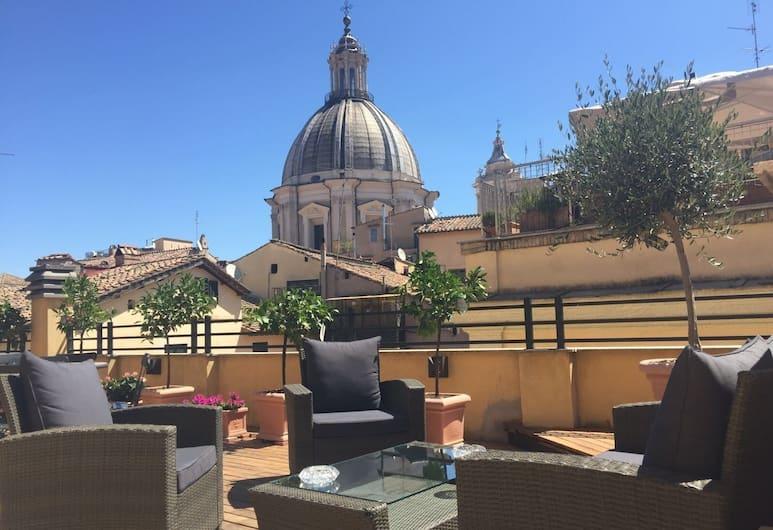 Navona Residenza de Charme, Roma, Terrazza/Patio